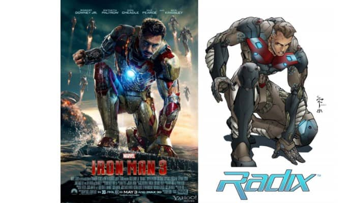 iron man 3 poster lawsuit