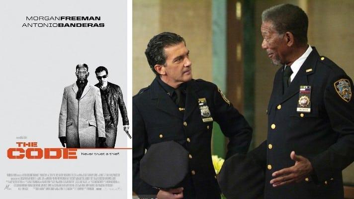 the code morgan freeman film