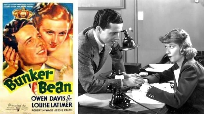 Bunker Bean film 1936