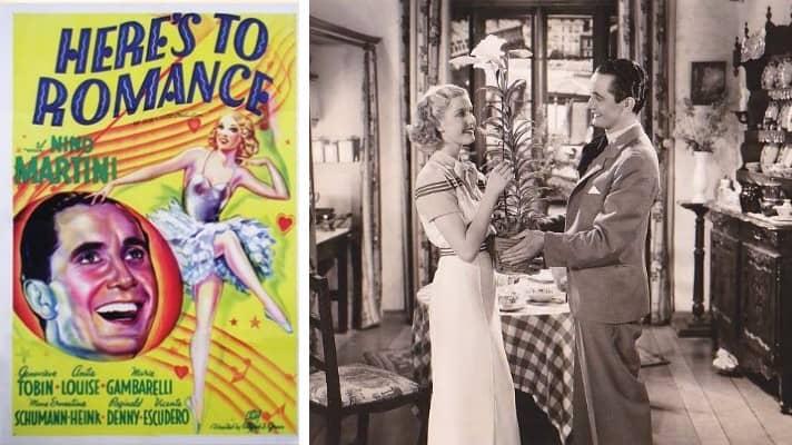 Here's to Romance 1935 film
