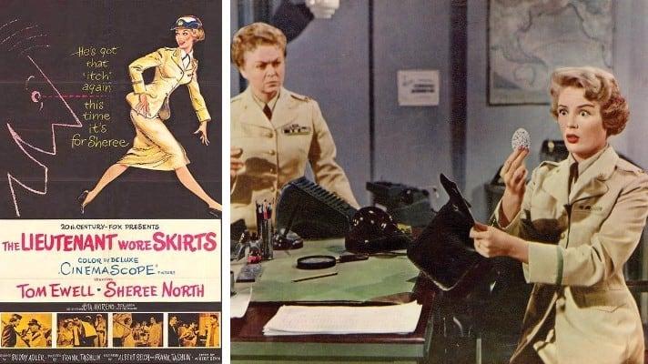The Lieutenant Wore Skirts 1956 film