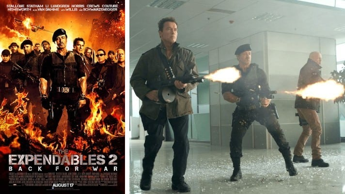 The Expendables 2 film 2012