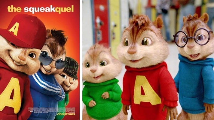 Alvin and the Chipmunks: The Squeakquel 2009 film
