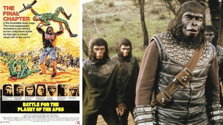 Battle for the Planet of the Apes film 1973