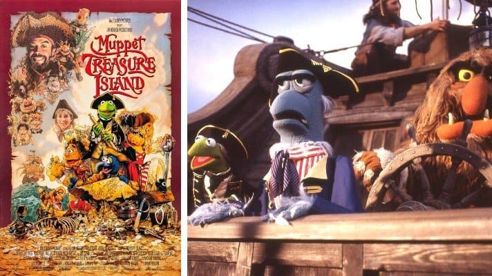 Muppet Treasure Island film 1996