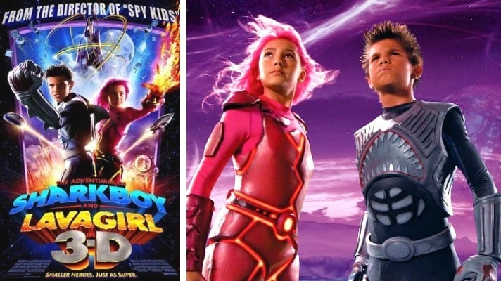 The Adventures of Sharkboy and Lavagirl 3-D film 2005