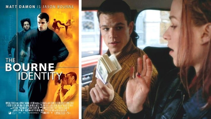 The Bourne Identity 2002 film