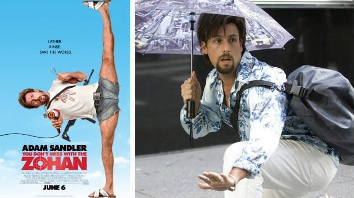 You Don't Mess with the Zohan film 2008