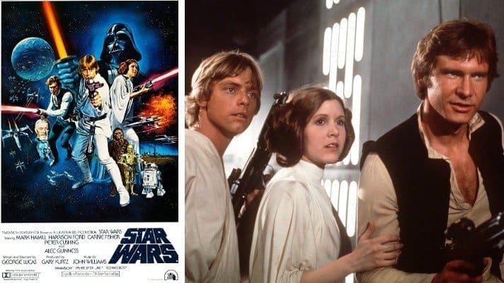 star wars film 1977