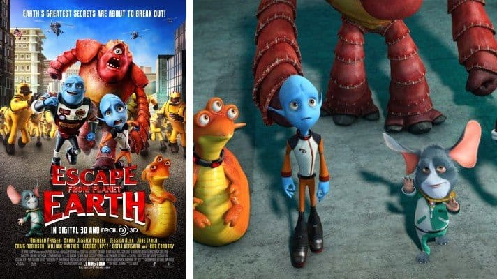 Escape from Planet Earth film 2013