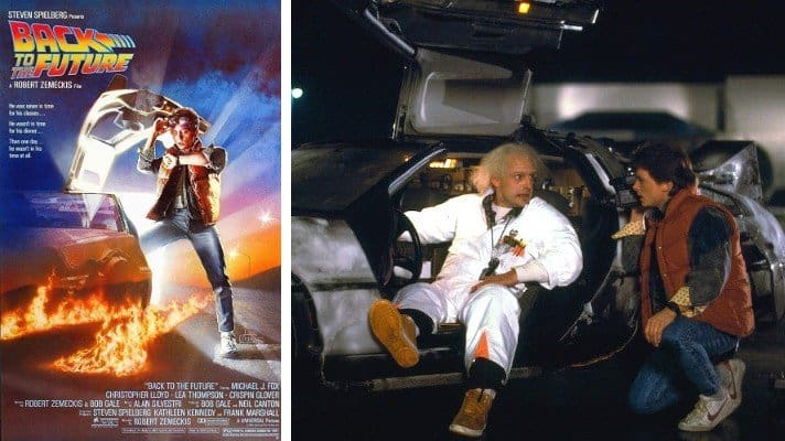 Back to the Future 1985 movie