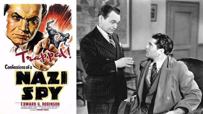 Confessions of a Nazi Spy movie 1939