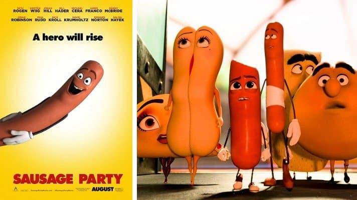 Sausage Party movie 2016