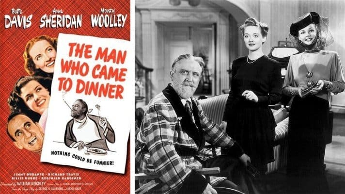 The Man Who Came to Dinner movie 1942