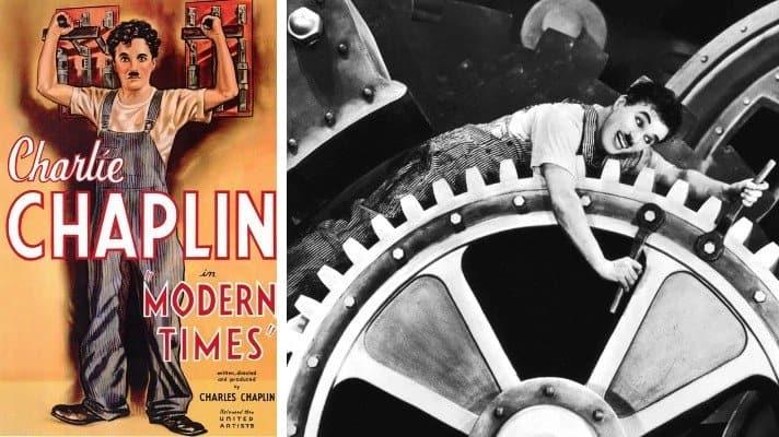 modern times movie 1936 Chaplin
