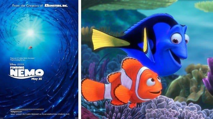 Finding Nemo film 2003 pixar