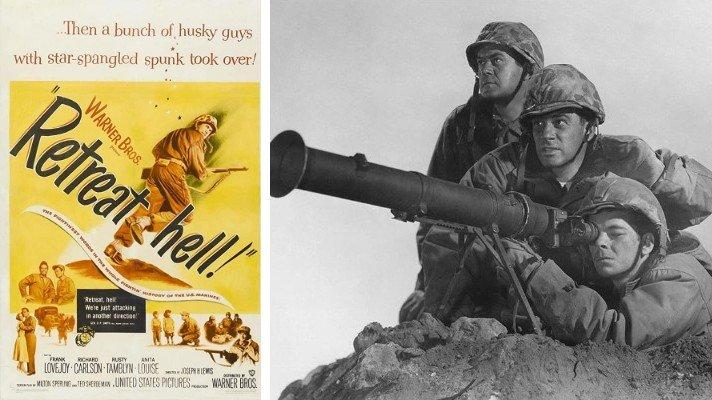 Retreat, Hell! movie 1952