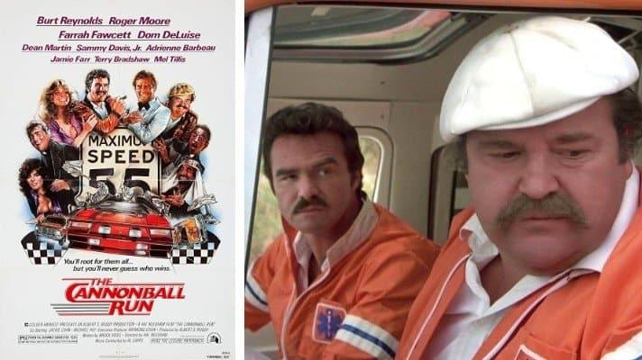 The Cannonball Run movie 1981