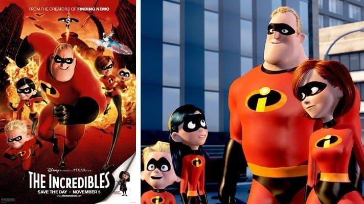 The Incredibles pixar 2004