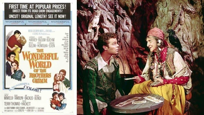 The Wonderful World of the Brothers Grimm movie 1962