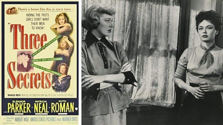 Three Secrets movie 1950