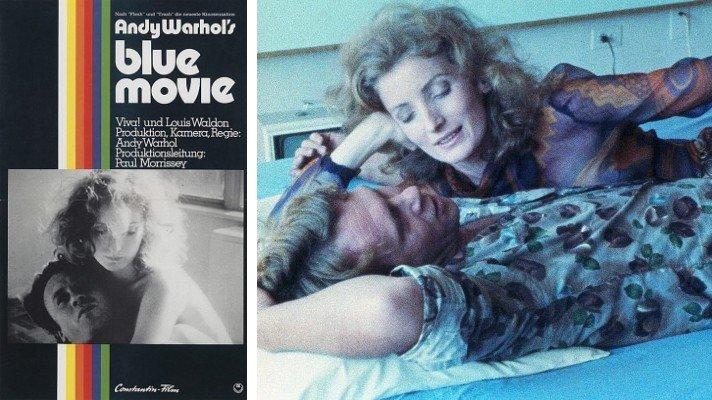 blue movie 1969 Andy Warhol